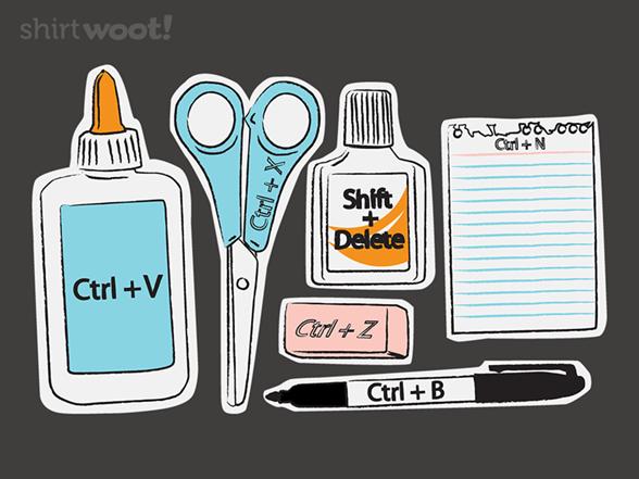 Instruments Of Ctrl T Shirt