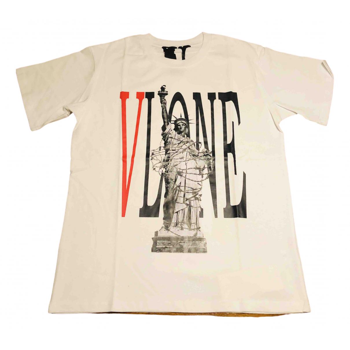 Vlone \N White Cotton  top for Women M International
