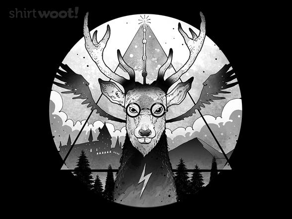 Magical Deer T Shirt