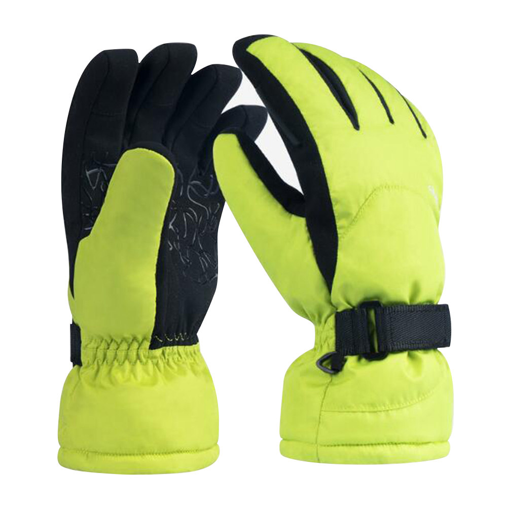 Xiaomi Youpin Waterproof Ski Gloves Sports Motorcycle Multi-function Gloves Size M - Green