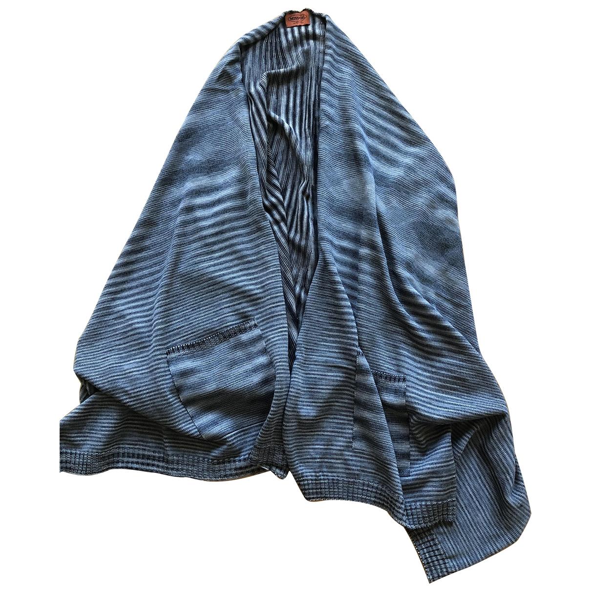 Missoni \N Blue Wool Knitwear for Women One Size IT
