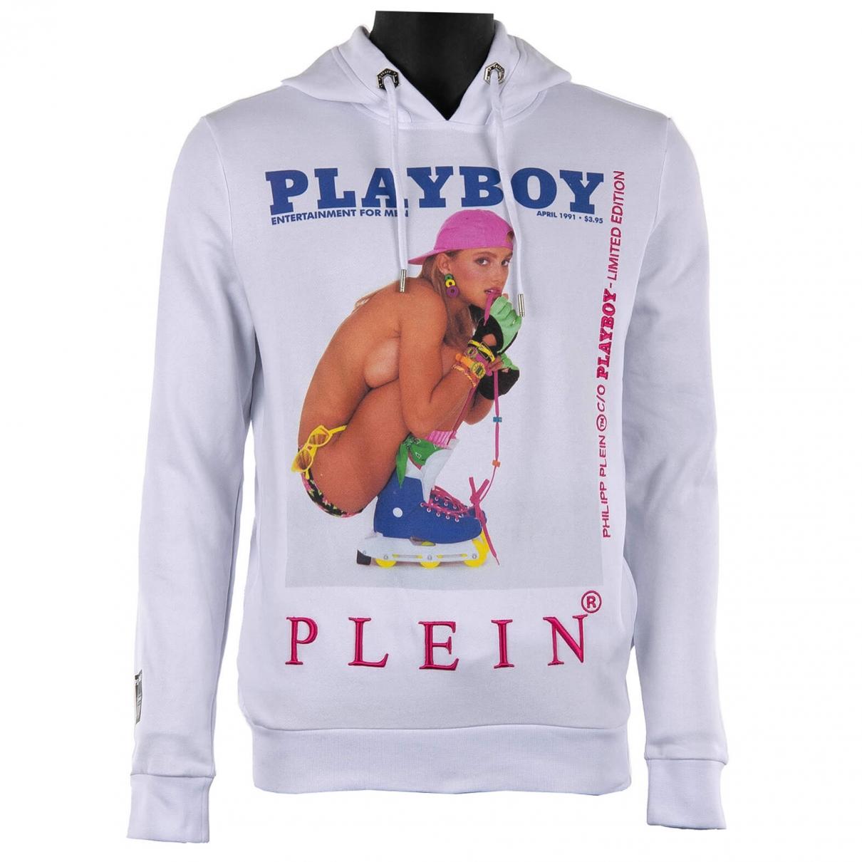 Philipp Plein \N White Cotton Knitwear & Sweatshirts for Men M International
