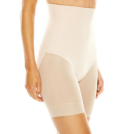 Underscore Innovative Edge Sheer High-Waist Extra Firm Control Thigh Slimmers - 129-3535, Xx-large , Beige