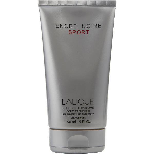 Lalique - Encre Noire Sport : Hair & Body Shower Gel 5 Oz / 150 ml