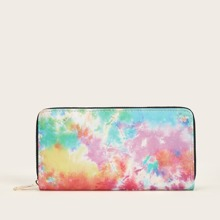 Ombre Zip Around Purse