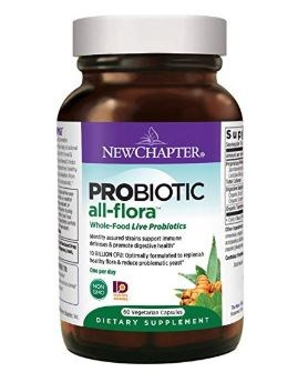 Probiotic All-Flora 60 Veg Caps by New Chapter