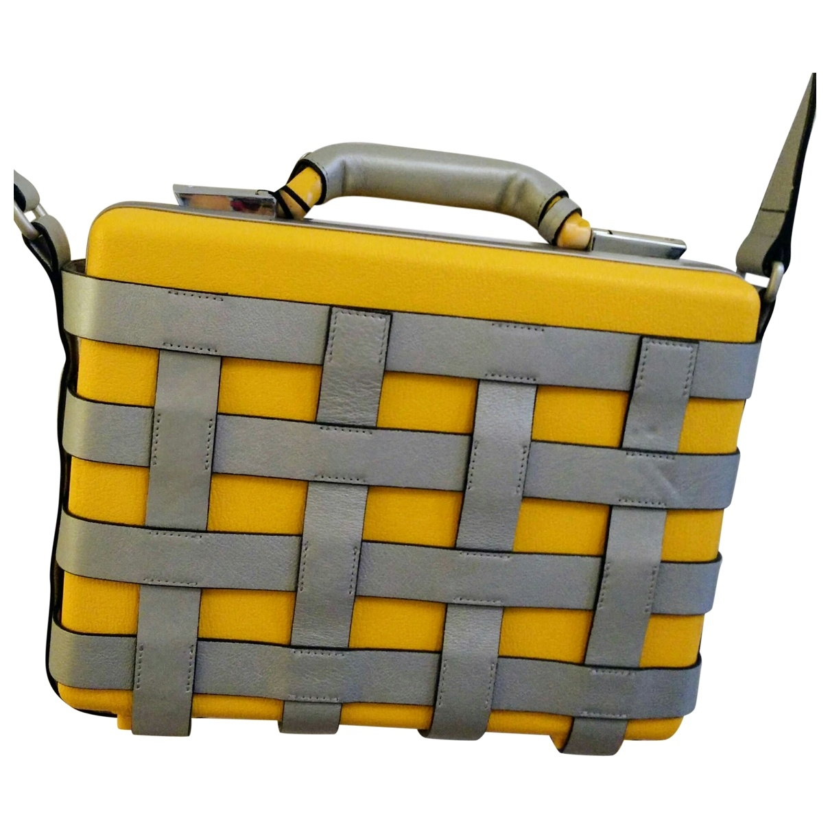 Matthew Williamson \N Yellow Travel bag for Women \N