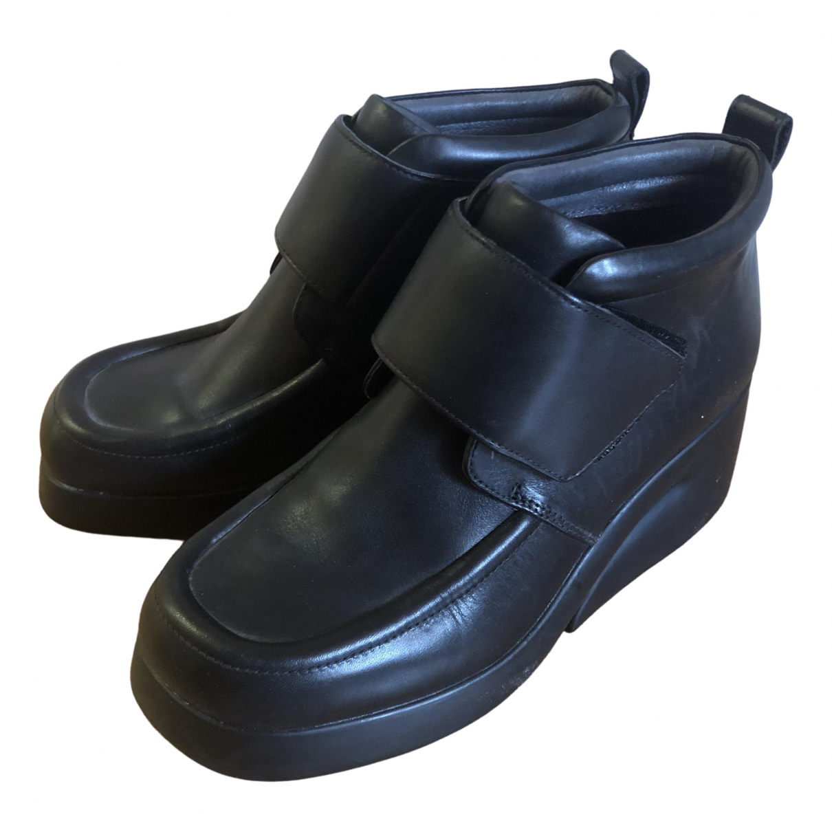 Camper \N Black Leather Boots for Women 6 UK