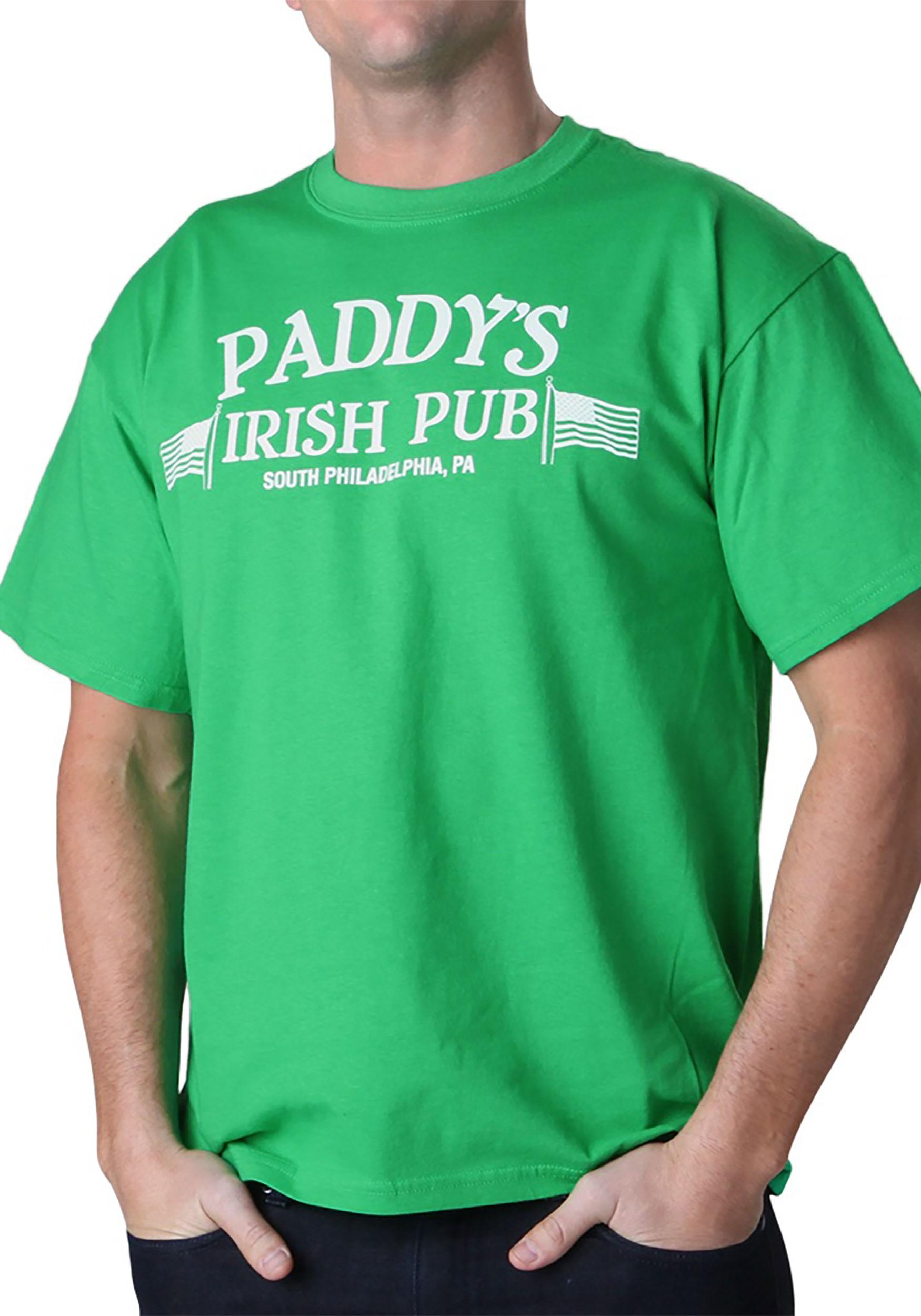 Always Sunny in Philadelphia Men's Paddy's Irish Pub T-Shirt