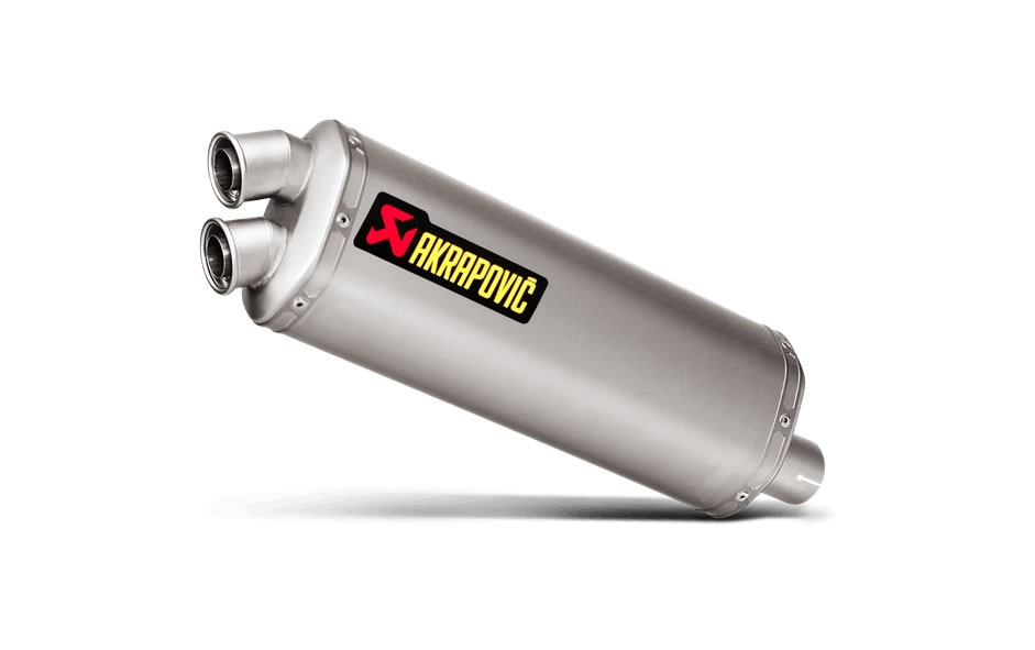 Akrapovic Homologated Slip-On Exhaust Honda CRF1000L Africa Twin 16-18