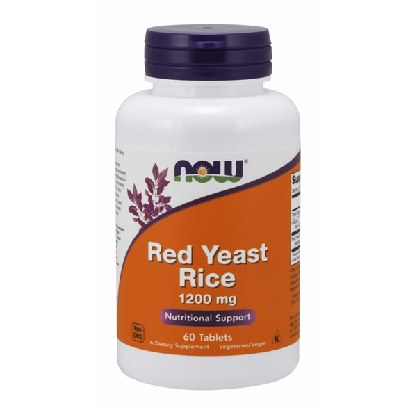 Red Yeast Rice Extract 60 Tabs by Now Foods