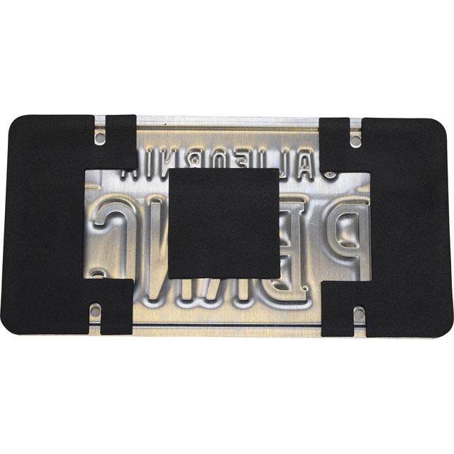 Heatshield Products License Plate Shield Kit Anti-Rattle/Anti-Scratch