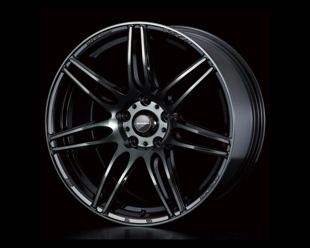 Weds SA-77R Wheel WedsSport 16x7 5x114.3 42mm Weds Black Clear