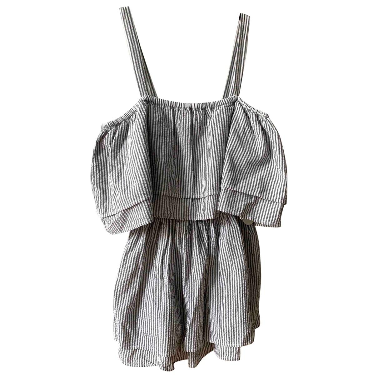 Tularosa \N White Cotton dress for Women M International