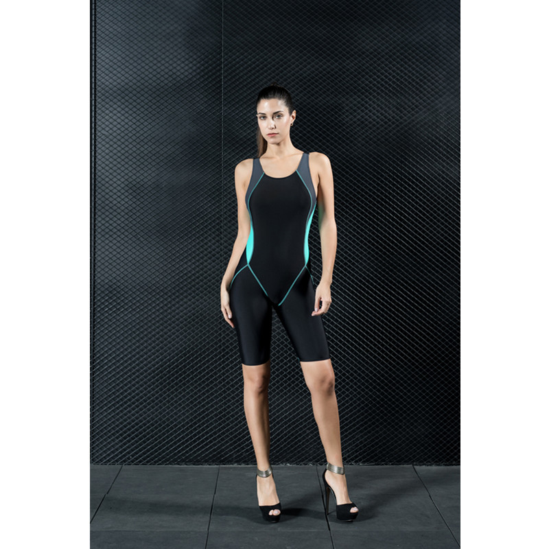 Racerback Tight Sleeveless High Quality Fabrics Women's Swimwear