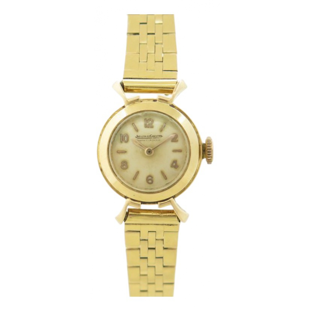 Jaeger-lecoultre Vintage Gold Yellow gold watch for Women \N