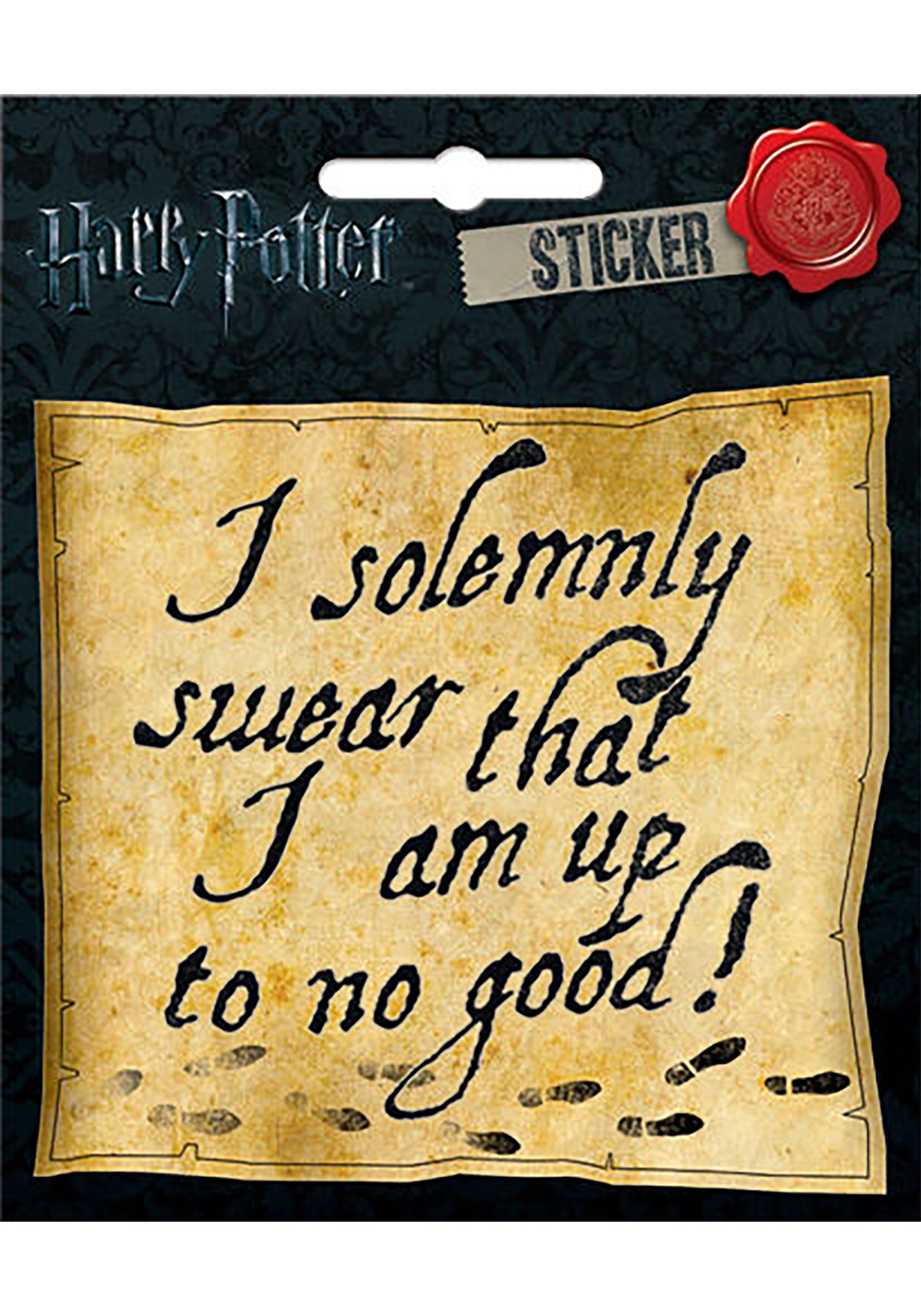 Harry Potter Hogwarts Map Sticker