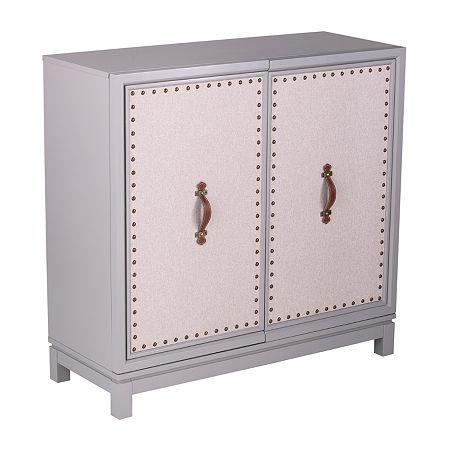 Ameri Accent Cabinet, One Size , Gray