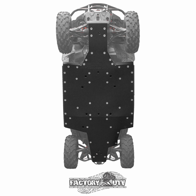 Factory UTV MavTr38Skd Can-Am Maverick Trail Three Eighths UHMW Skid Plate