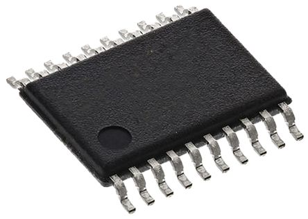 Texas Instruments SN74LVTH241PW Octal-Channel Buffer & Line Driver, 3-State, 20-Pin TSSOP (5)