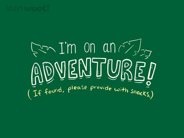 On An Adventure! T Shirt