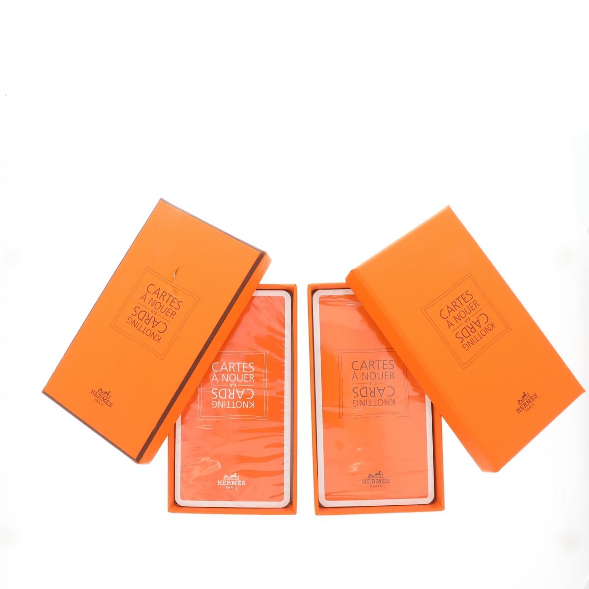 Herm??s \N Orange Home decor for Life & Living \N