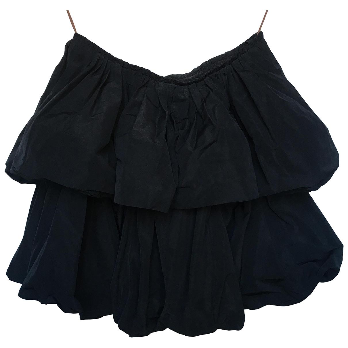 Carven \N Black skirt for Women 38 FR