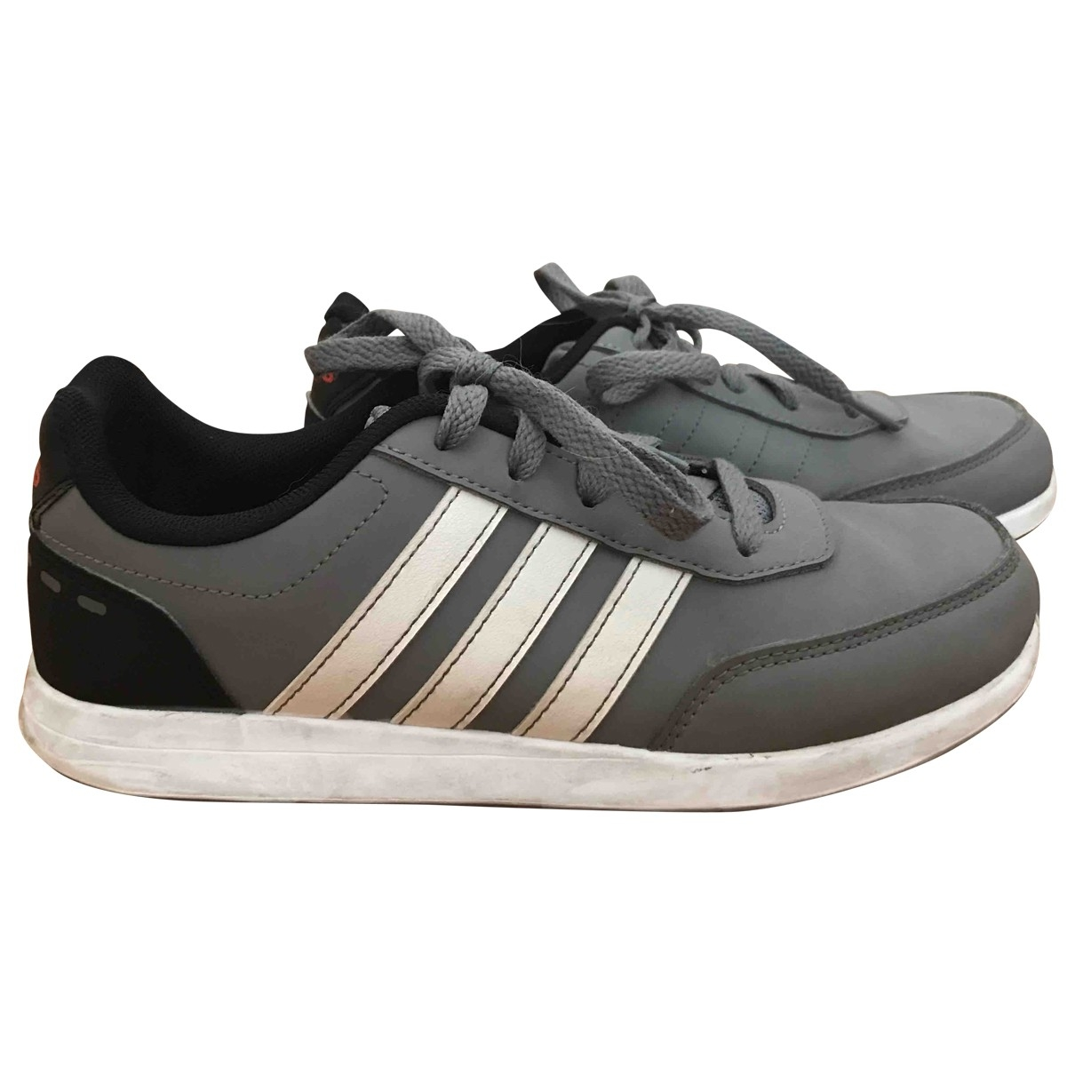 Adidas \N Grey Leather Trainers for Kids 36 EU