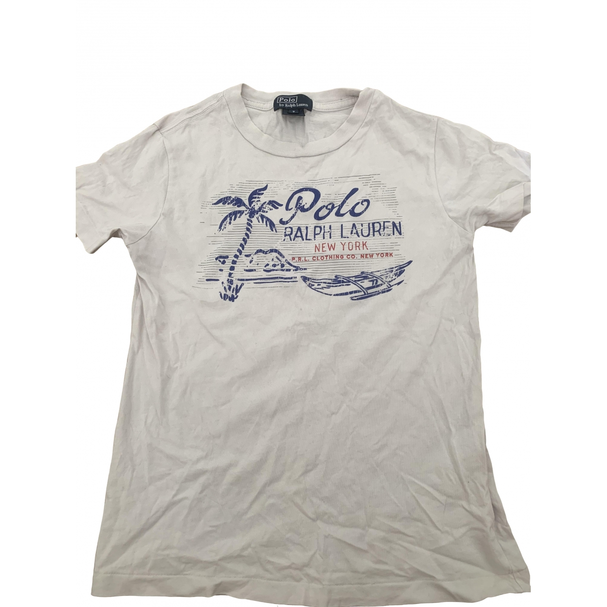 Polo Ralph Lauren \N White Cotton  top for Kids 6 years - up to 114cm FR