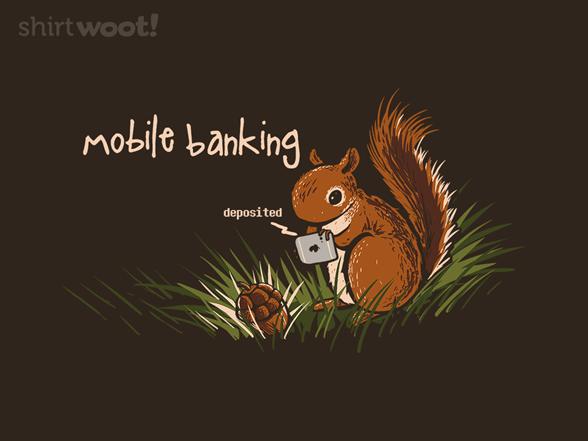 Mobile Banking T Shirt