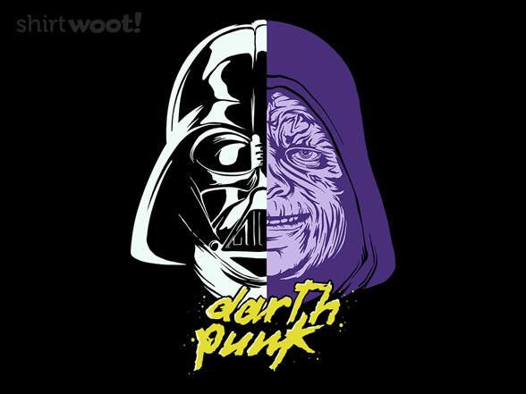 Darth Punk T Shirt