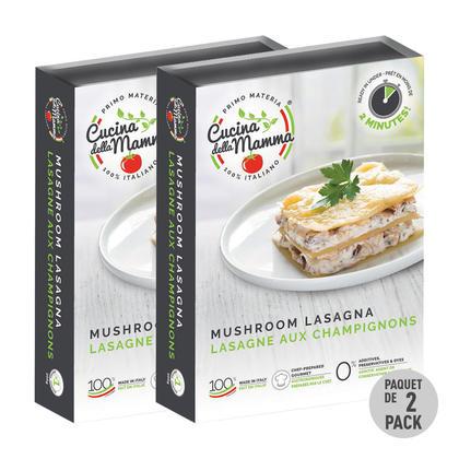 We Remain Open Cuisine de la mère Lasagne aux champignons, 300g