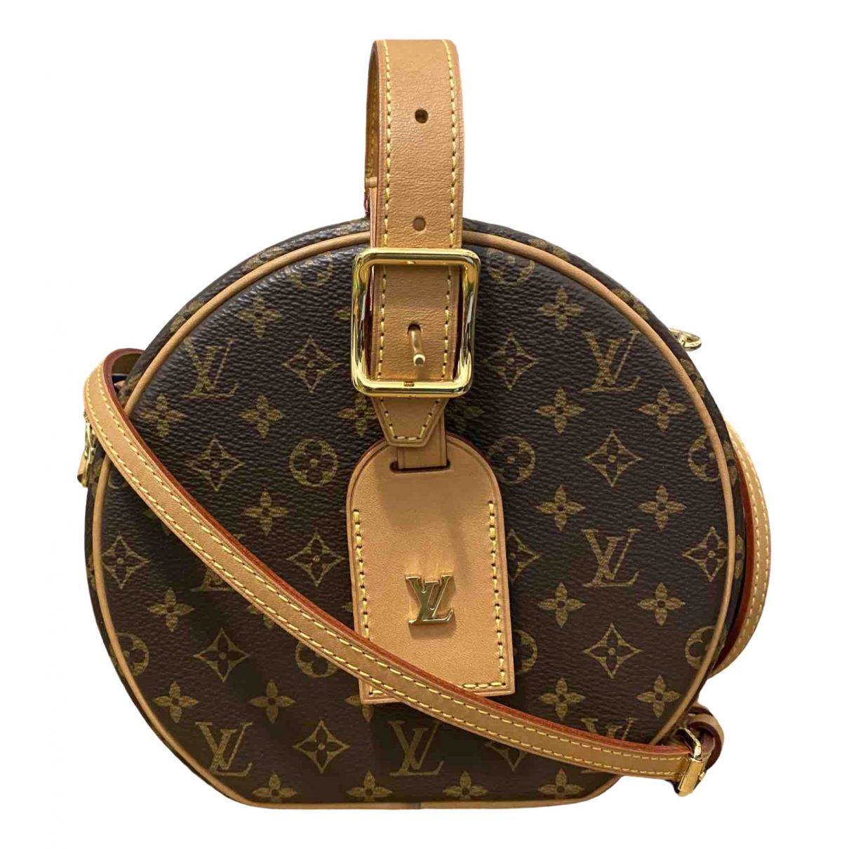 Louis Vuitton Petite Boîte à Chapeau Beige Cloth handbag for Women \N