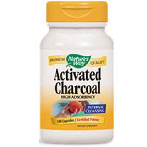 Activated Charcoal 100 Caps by Nature's Way
