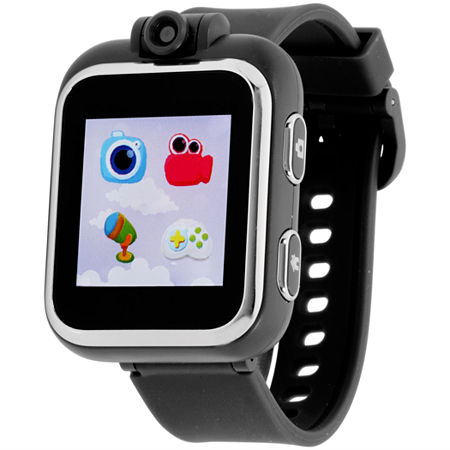 Itouch Playzoom Boys Black Smart Watch-Ipz03494s59b-003, One Size , No Color Family