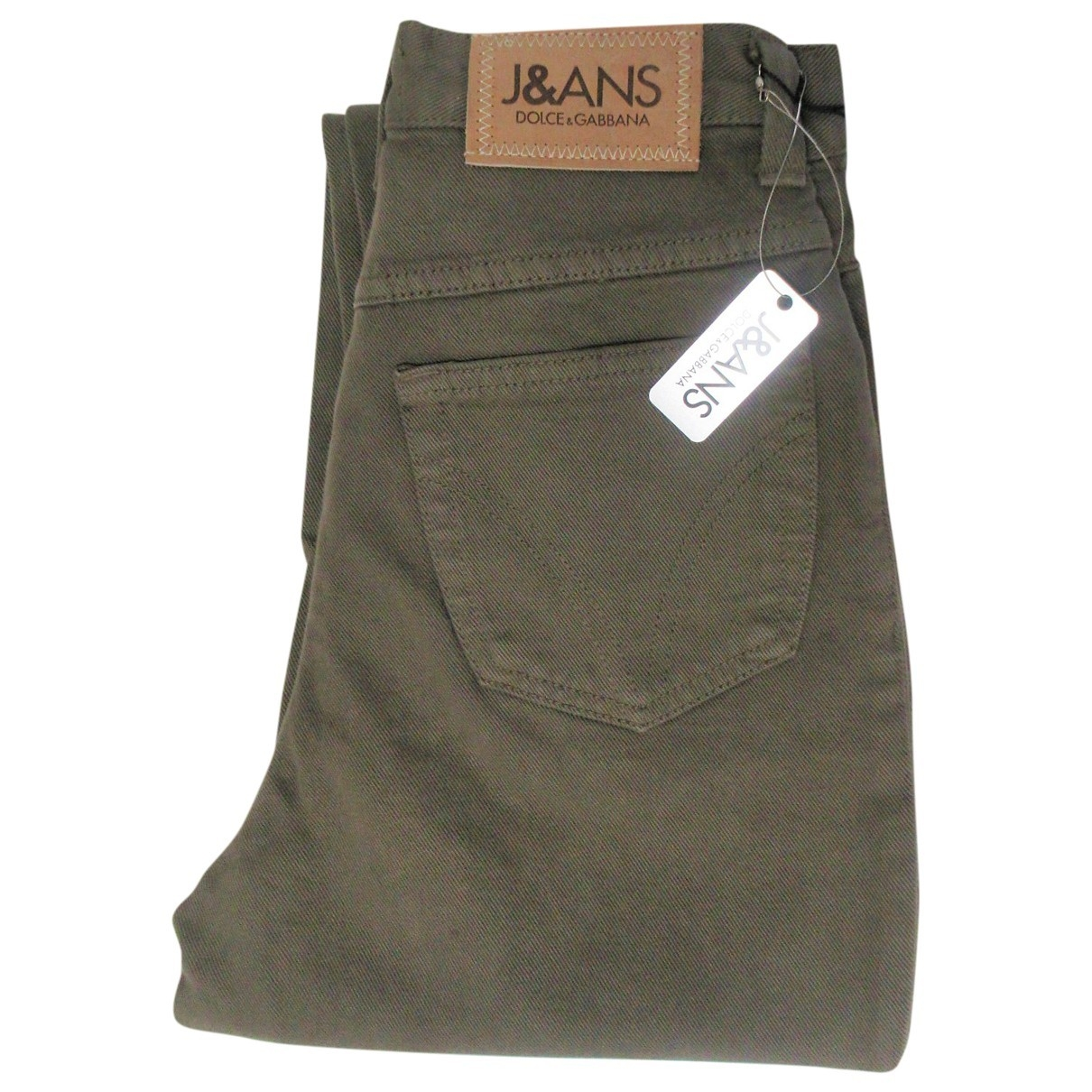 Dolce & Gabbana \N Brown Cotton Jeans for Women 27 US