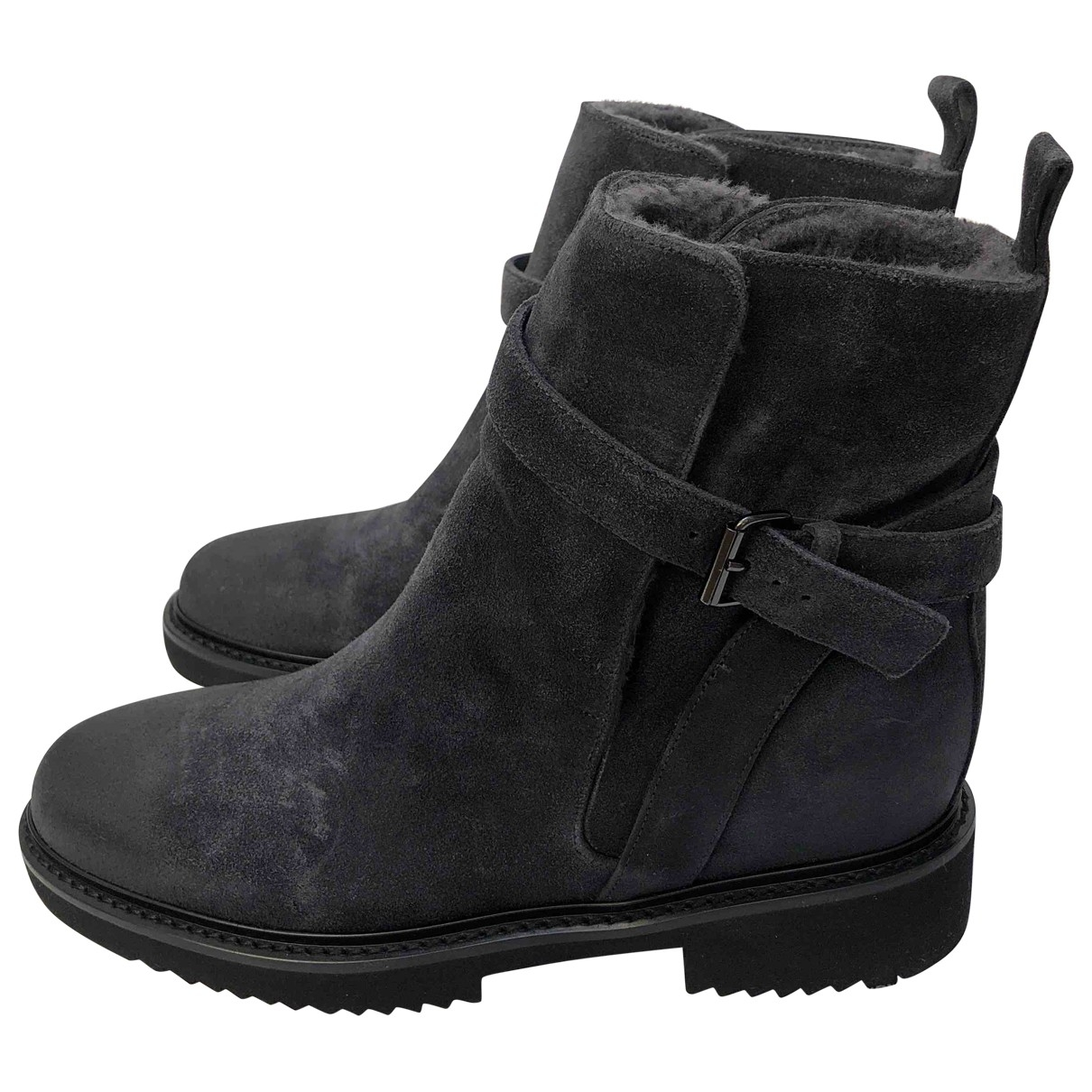 Vince \N Grey Suede Boots for Women 7 UK
