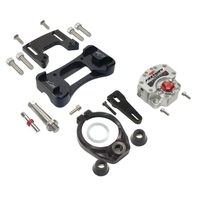 Pro Moto Billet KIT-MT-0503-5 Stabilizer Sys 5 Over-Bar Kit