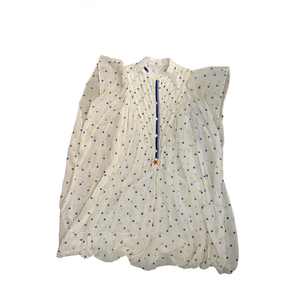 Tsumori Chisato \N White Silk dress for Women 2 0-5