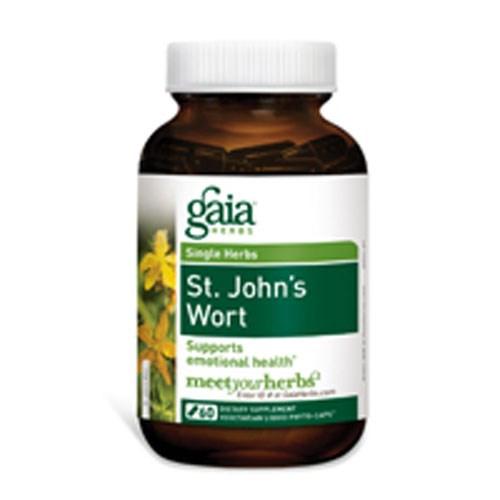 St. John''s Wort 60 caps by Gaia Herbs