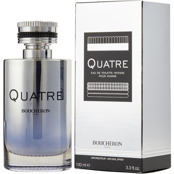Boucheron - Quatre Intense : Eau de Toilette Spray 3.4 Oz / 100 ml