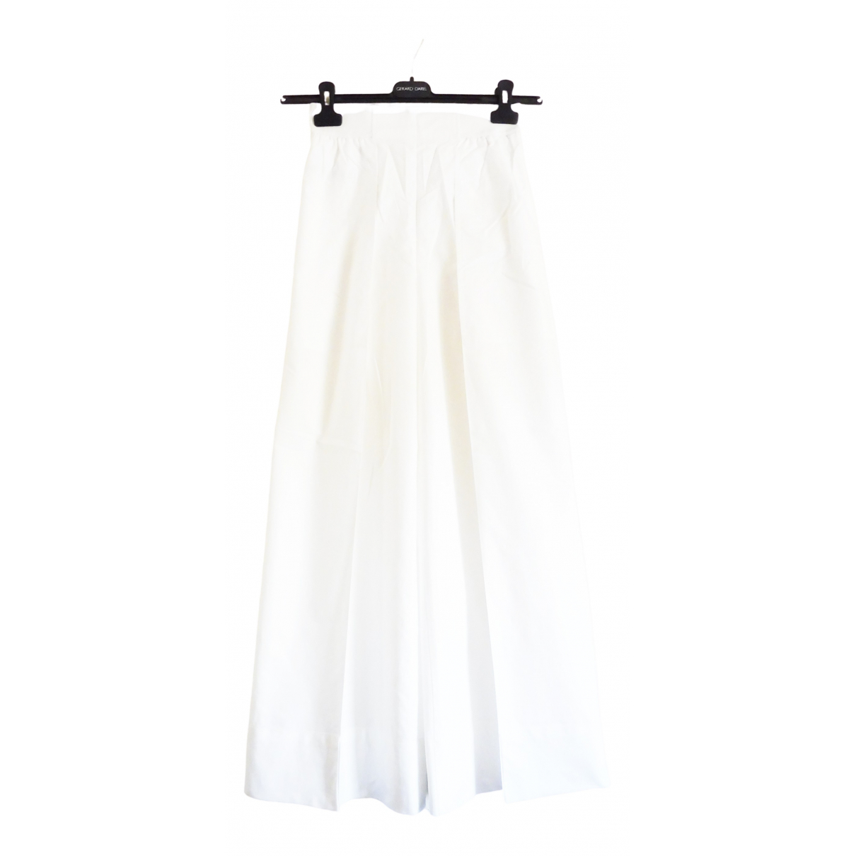 Lemaire X Uniqlo \N White Cotton Trousers for Women S International