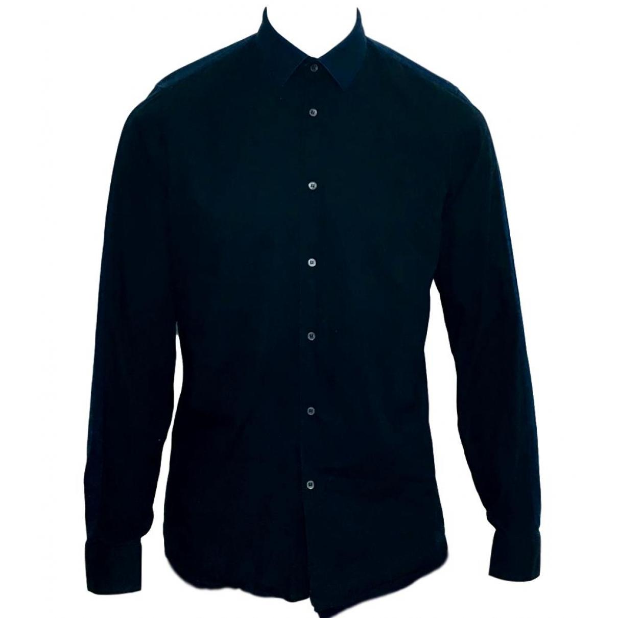 Miu Miu \N Black Cotton Shirts for Men M International