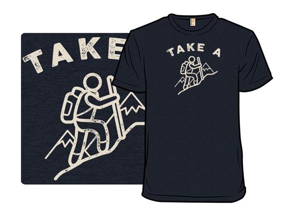 Take A Hike T Shirt