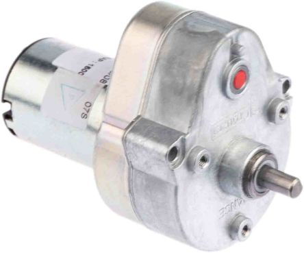 Crouzet , 12 V dc, 2 Nm, Brushed DC Geared Motor, Output Speed 2.9 rpm