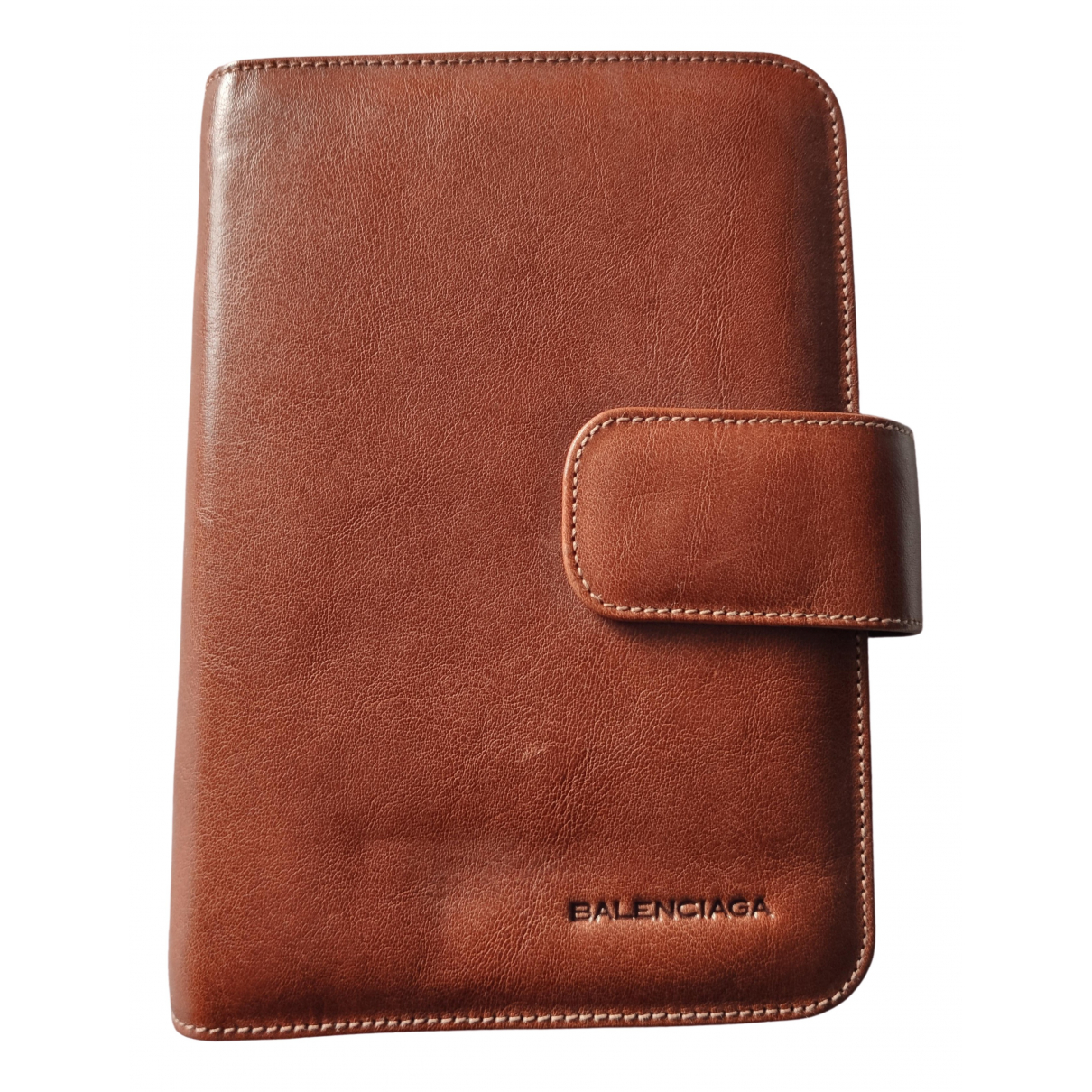 Balenciaga \N Brown Leather Purses, wallet & cases for Women \N