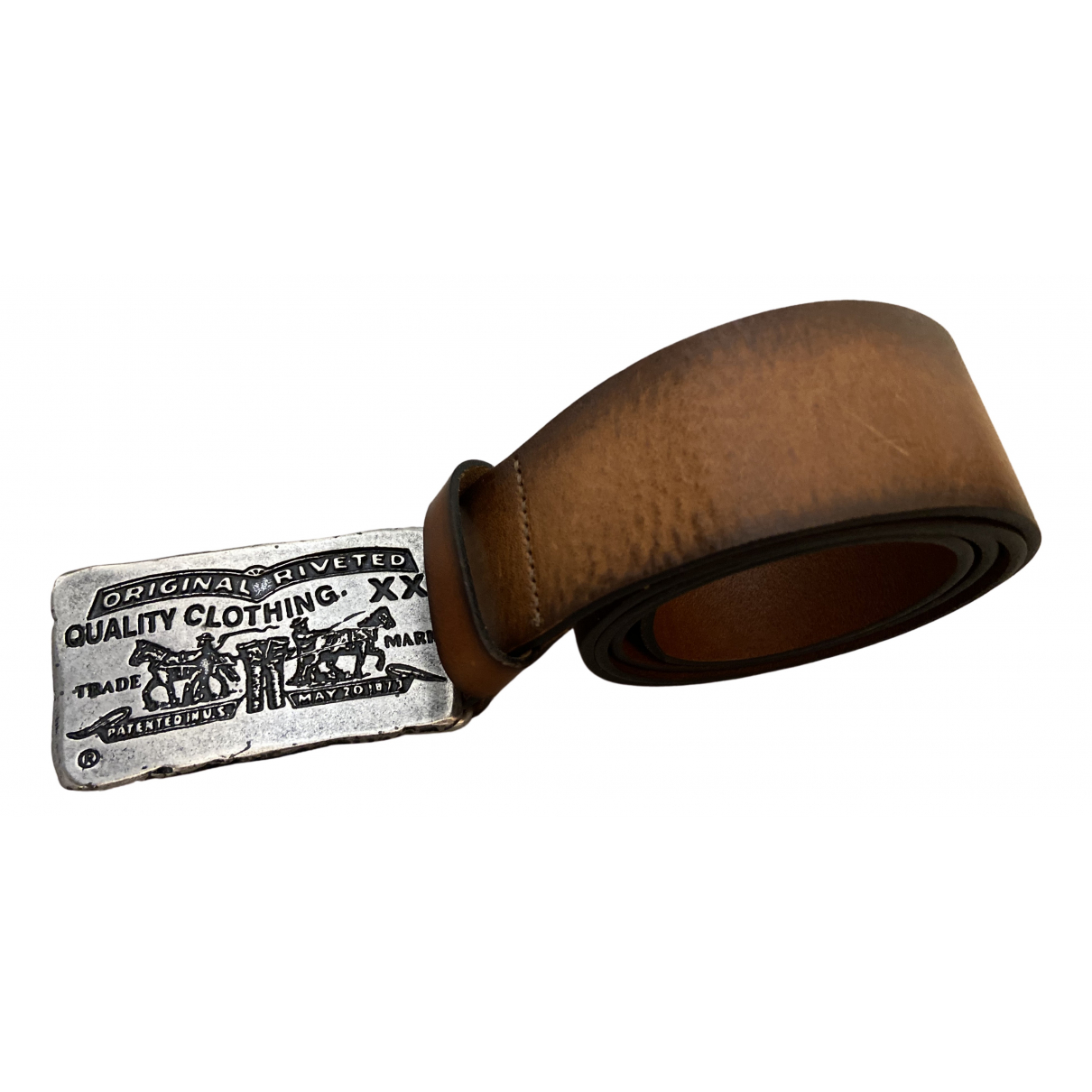 Levi's \N Brown Leather belt for Women 95 cm