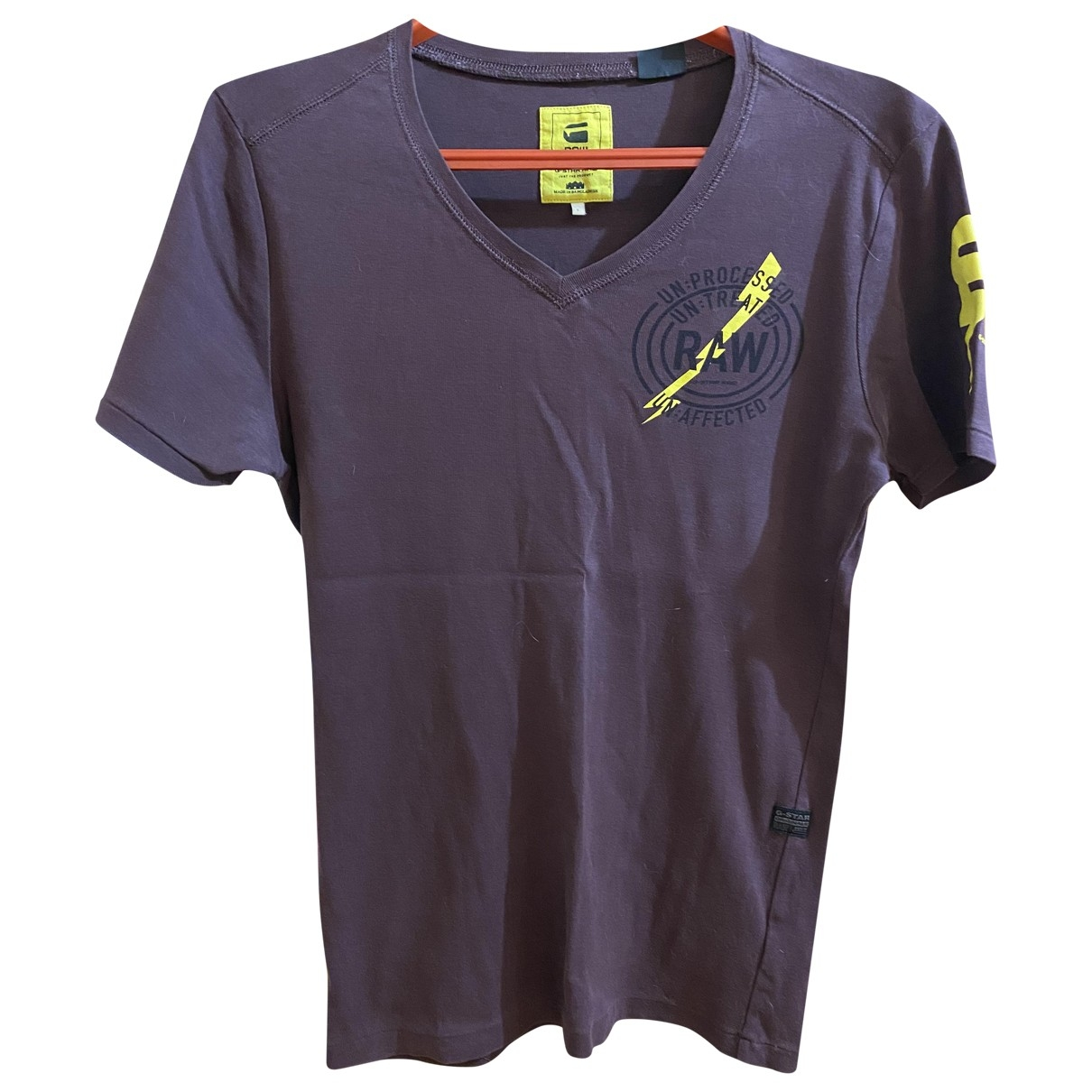 & Stories \N Brown Cotton T-shirts for Men S International