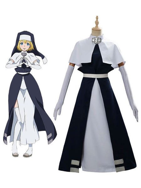 Milanoo Fire Force Cosplay Alice Polyester Suit Cosplay Costume