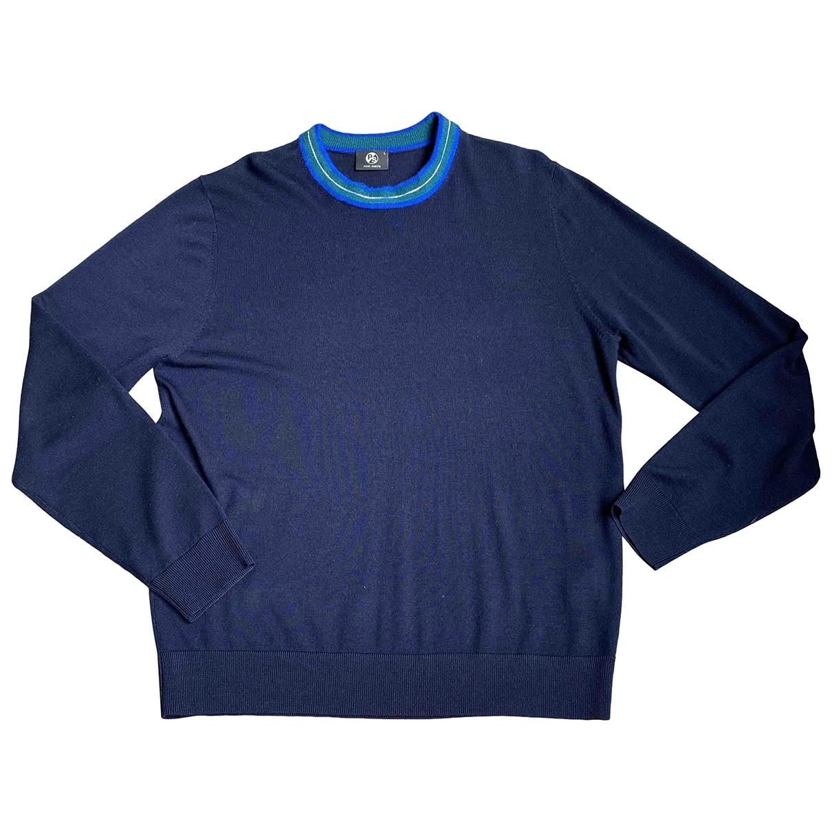 Paul Smith \N Blue Wool Knitwear & Sweatshirts for Men L International